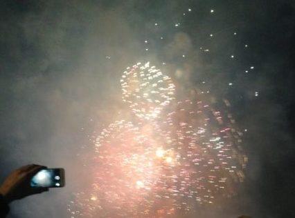 ロンドンのカウントダウンの花火は結構すごかったけど帰りがしんどかった