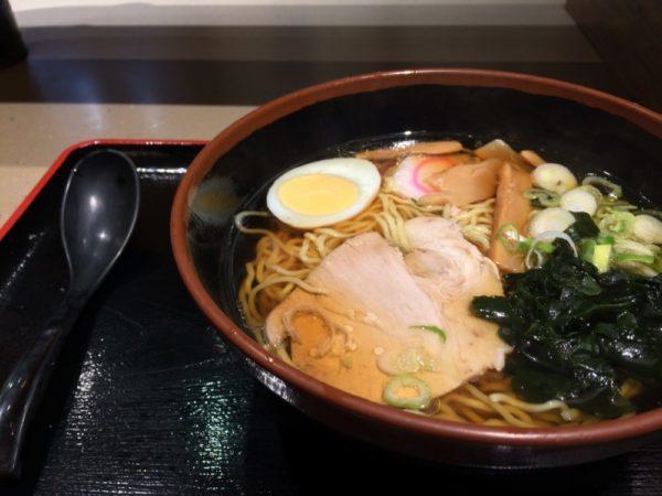 富士そばで、「昔ながらのラーメン」を食べた